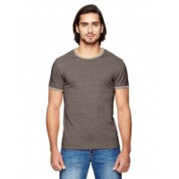 01957E - Men's Eco-Mock Twist Ringer Crew T-Shirt