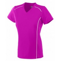 1092 - Ladies Wicking Polyester Short-Sleeve T-Shirt
