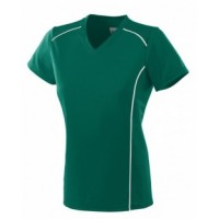 1093 - Girls Wicking Polyester Short-Sleeve T-Shirt