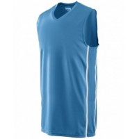 1181 - Youth Wicking Polyester Sleeveless Jersey with Mesh Inserts