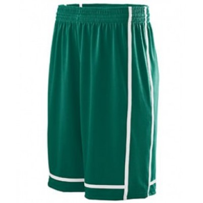 1185 - Adult Wicking Polyester Shorts with Mesh Inserts