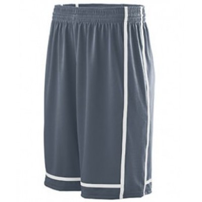 1186 - Youth Wicking Polyester Shorts with Mesh Inserts