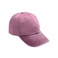 145 - Adult Solid Low-Profile Pigment-Dyed Cap