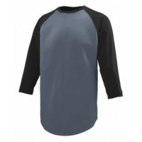 1506 - Youth Wicking Polyester 3/4 Raglan Sleeve T-Shirt
