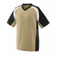 1535 - Adult Wicking Polyester V-Neck Short-Sleeve Jersey with Inserts