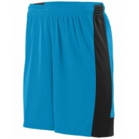 1605 - Adult Wicking Polyester Short with Contrast Inserts