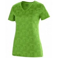 1792 - Ladies Wicking Printed Polyester Short-Sleeve T-Shirt