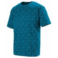 1795 - Adult Wicking Printed Polyester Short-Sleeve T-Shirt