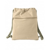 1901 - 14 oz. Pigment-Dyed Canvas Cinch Sack