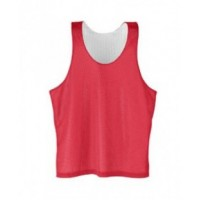 208 - Youth Tricot Reverse Mesh Tank