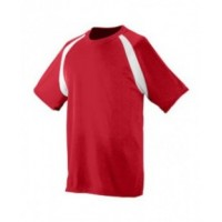 218 - Polyester Wicking Colorblock Jersey