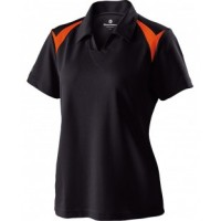222346 - Ladies' Polyester Pique Laser Polo