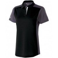 222386 - Ladies' Polyester Closed-Hole Division Polo