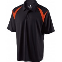 222446 - Adult Polyester Pique Laser Polo