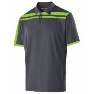 222487 - Adult Polyester Closed-Hole Charge Polo