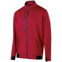 229166 - Adult Polyester Fleece Full Zip Artillery Jacket