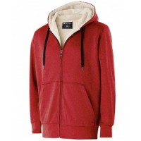 229174 - Adult Polyester Fleece Full Zip Artillery Sherpa Jacket