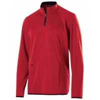 229176 - Adult Polyester Fleece 1/4 Zip Artillery Pullover
