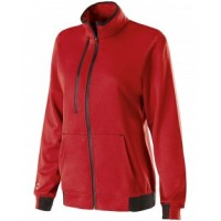 229366 - Ladies' Polyester Fleece Full Zip Artillery Jacket