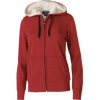 229374 - Ladies' Polyester Fleece Full Zip Hooded Artillery Sherpa Jacket