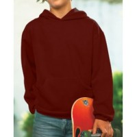 2296 - Youth Fleece Hooded Pullover Sweatshirt With Pouch Pocket