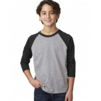 3352 - Youth CVC 3/4-Sleeve Raglan