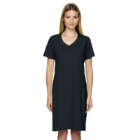 3522 - Ladies' V-Neck Fine Jersey Coverup