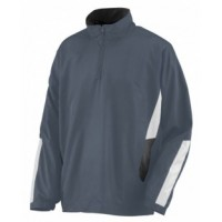 3720 - Adult Water Resistant Polyester Diamond Tech Half Zip Pullover