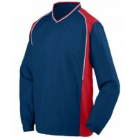 3745 - Adult Water Resistant Polyester Diamond Tech V-Neck Pullover