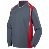 3746 - Youth Water Resistant Polyester Diamond Tech V-Neck Pullover