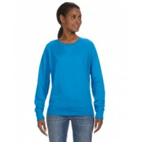 3762 - Ladies' Slouchy French Terry Pullover