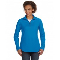 3764 - Ladies' Quarter-Zip French Terry Pullover