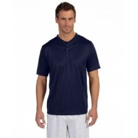 426 - Adult Wicking Two-Button Jersey