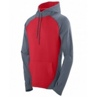 4762 - Adult Wicking Brushed Back Poly/Span Hoody
