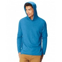 4900 - Adult Heavyweight RS Long-Sleeve Hooded T-Shirt