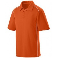 5091 - Adult Wicking Polyester Sport Shirt with Contrast Piping