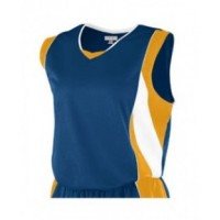 516 - Girl's Wicking Mesh Advantage Jersey