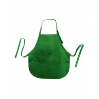 5507 - Sara AS3R Cotton Twill Apron Forest