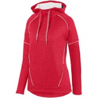 5556 - Ladies' Zoe Tonal Heather Hoodie