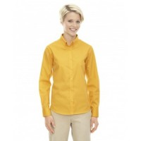 78193 - Ladies' Operate Long-Sleeve Twill Shirt