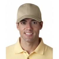8101 - Adult Classic Cut Chino Cotton Twill Structured Cap