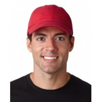 8111 - Adult Classic Cut Brushed Cotton Twill Unstructured Cap