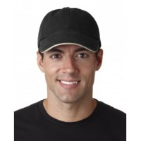 8112 - Adult Classic Cut Brushed Cotton Twill Unstructured Sandwich Cap