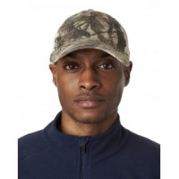 8114 - Adult Classic Cut Brushed Cotton Twill Unstructured Trucker Cap