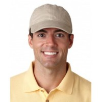 8116 - Adult Classic Cut Heavy Brushed Cotton Twill Unstructured Cap