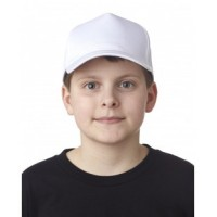 8120Y - Youth Classic Cut Cotton Twill 5-Panel Cap