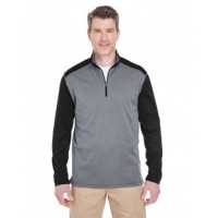 8232 - Adult Cool & Dry Sport Two-Tone Quarter-Zip Pullover