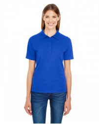 035P Ladies' 6.5 oz. X-Temp® Piqué Short-Sleeve Polo with Fresh IQ - Hanes Women Polo Shirts