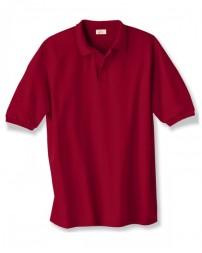 054 Adult 50/50 EcoSmart® Jersey Knit Polo - Hanes Polo Shirts