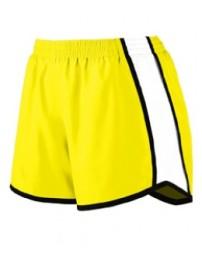 1265 Ladies' Pulse Team Short - Augusta Sportswear Womens Shorts